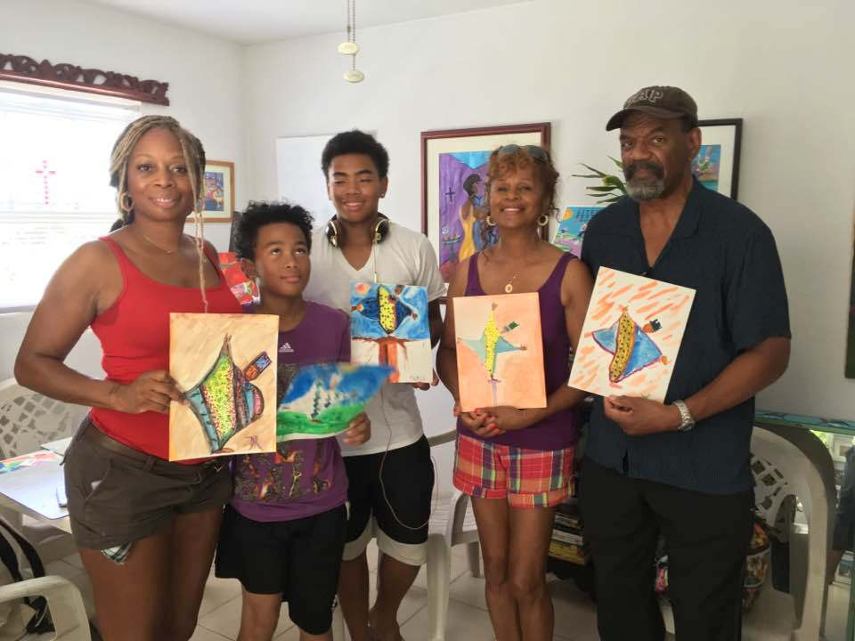 Private Family Art Class