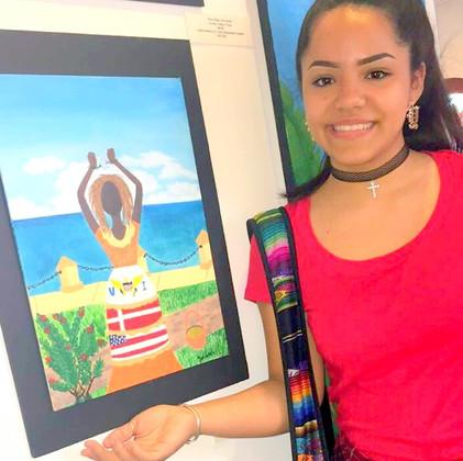 SCECHS student  VI  STJ Yolinette Velazquez