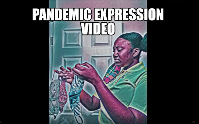 Advanced Art and Basic Art Students Pandemic Expression Videos