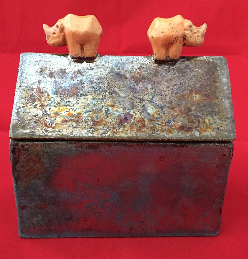 Rhino box raku