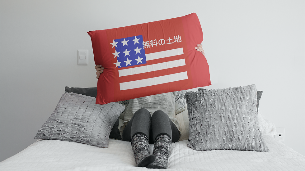 American Ziyou - Pillow Case