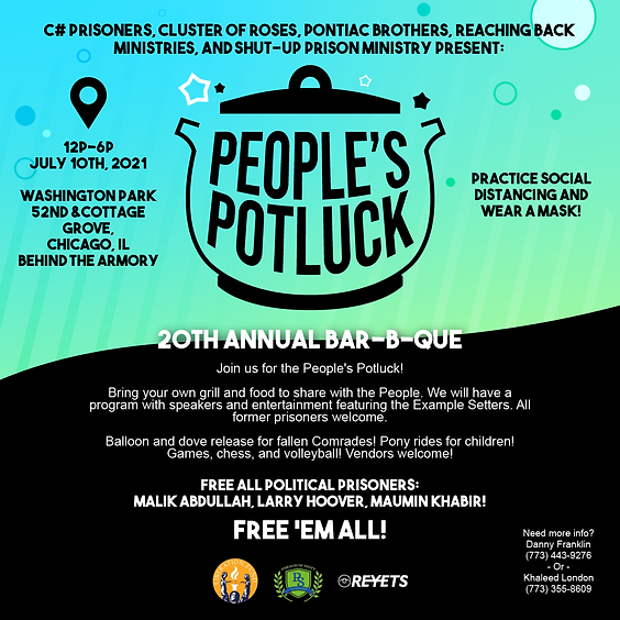 Peopel's Potluck Annual Bar-B-Que