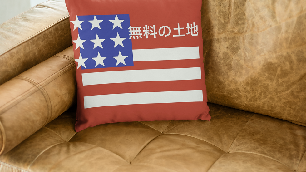 American Ziyou Throw Pillow