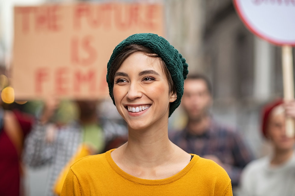 happy-smiling-woman-in-protest-for-femal