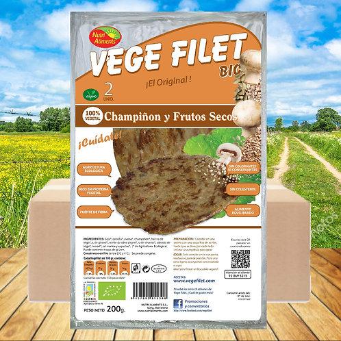 10 paq. Vege Filet Champiñon Bio ( 2 unid. paq.)