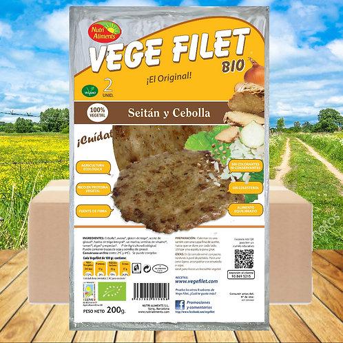 10 paq. Vege Filet Seitan Bio ( 2 unid. paq.)