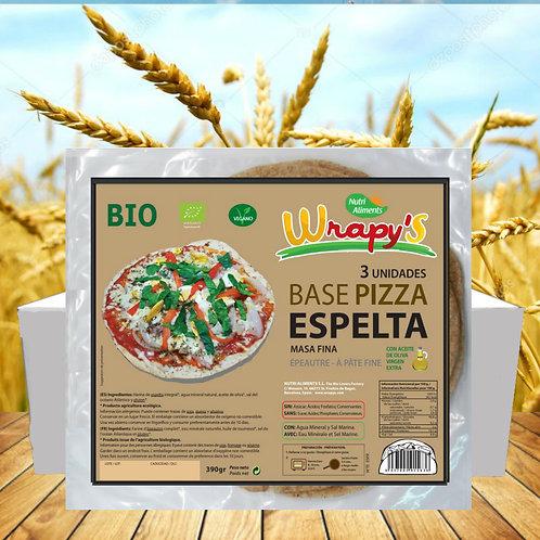 7 paq. Base Pizza  Espelta  Bio (3 unid. paq.)