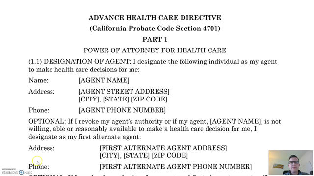 How to Do Your Own Health Care Directive