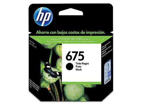TINTA HP  675 NEGRO OFFICEJET 4000/4400 (CN690AL)