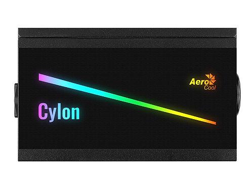 FTE DE PODER AEROCOOL CYLON ATX 600W 80PLUS BRONZE RGB(4718009157248)