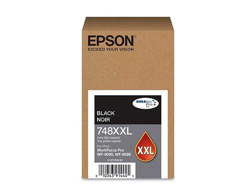 TINTA EPSON NEGRO WF-6090/WF-6590 REND 10000PAG (T748XXL120-AL)
