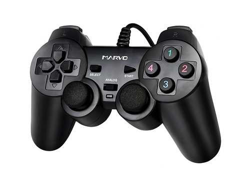 GAME PAD MARVO USB P/PSP3 PC ANDROID (GT-006)