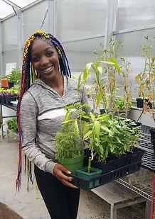 Henderson Middle and High School students enjoy plants.jpg