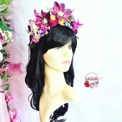 Summer Jewels Flower Crown