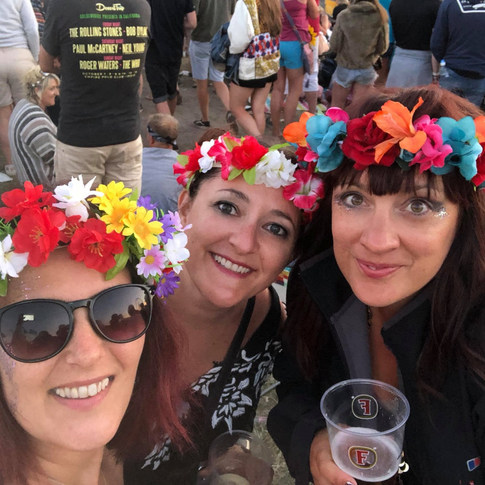 Adorabella Crowns - Isle of Wight Festival