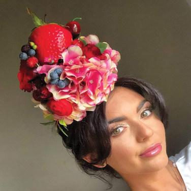 Strawberry Fruit Sundae