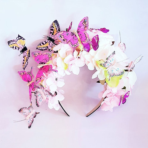 Butterfly Floral Crown