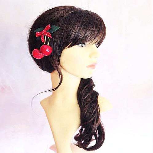 Cherry Hair Slide
