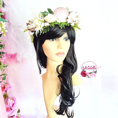 Shell Flower Crown
