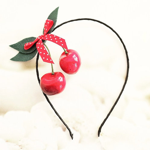 Cherry Hairband