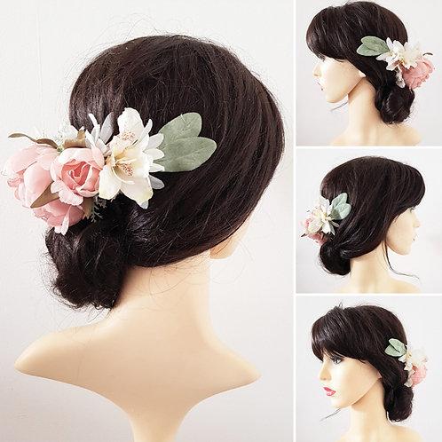 Peony Floral Hair Wrap