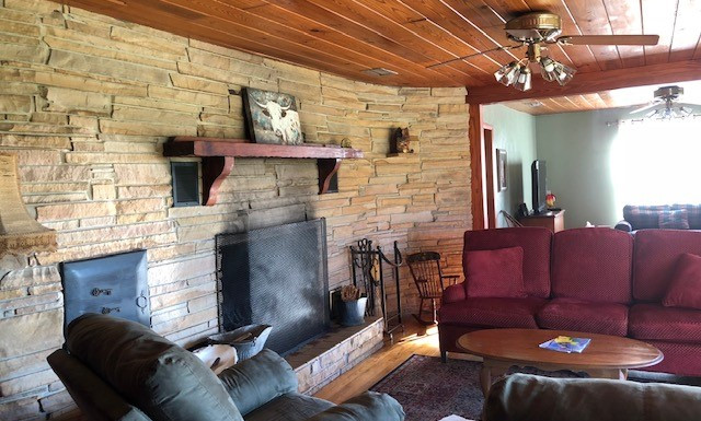 Living Room at Ranch House