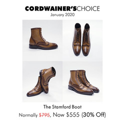 A Cordwainer's Choice (1-20 Stamford)