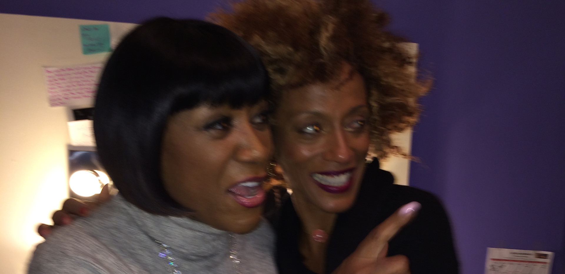 Karine and Patti LaBelle
