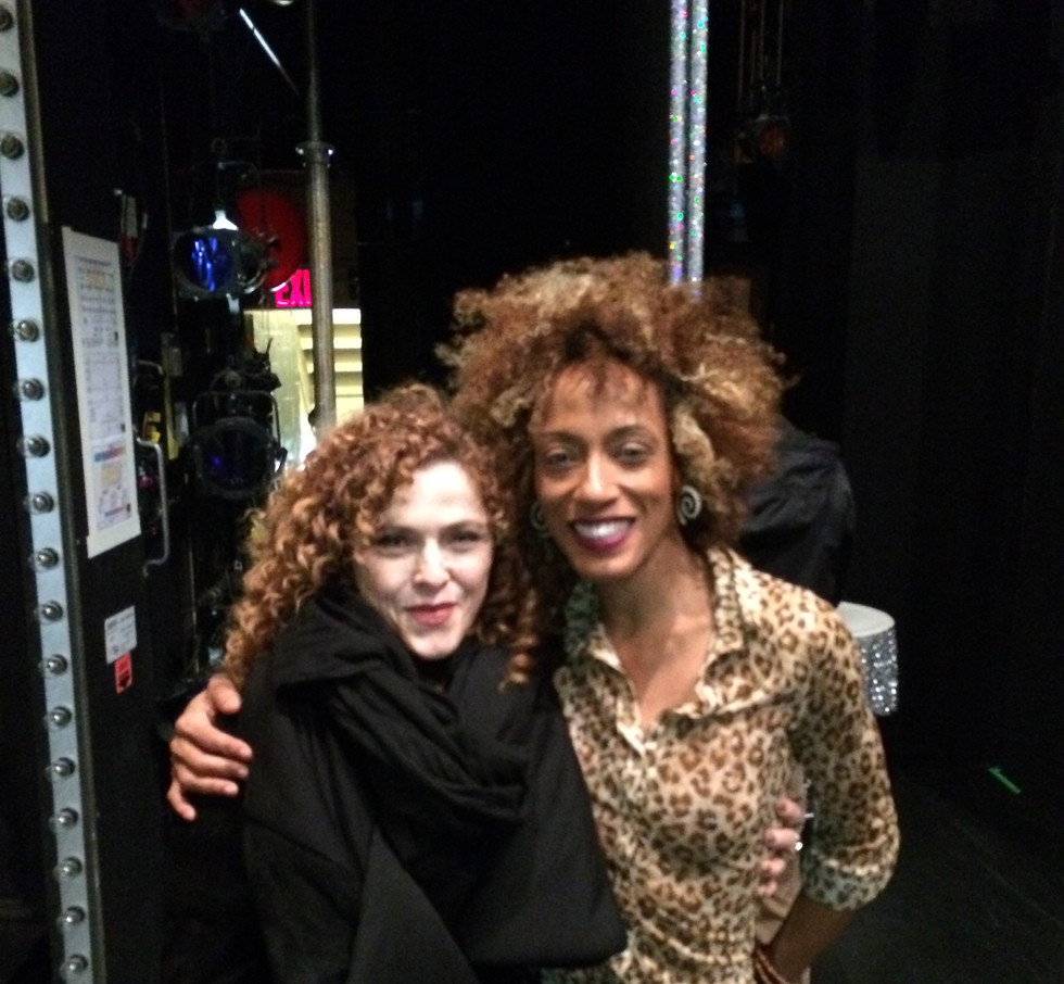 Kainre and Bernadette Peters