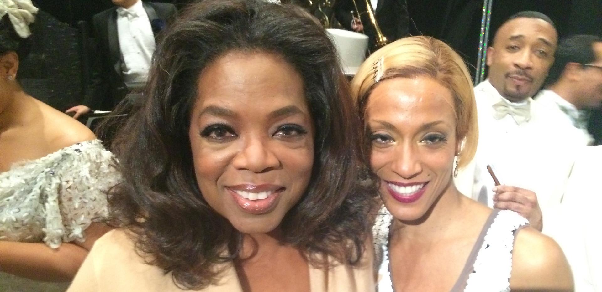 Karine and Oprah