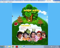 De eerste site van magic marky