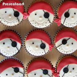 Piratencupcakes, 2.50 per stuk