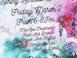Spring Renewal Spa Party