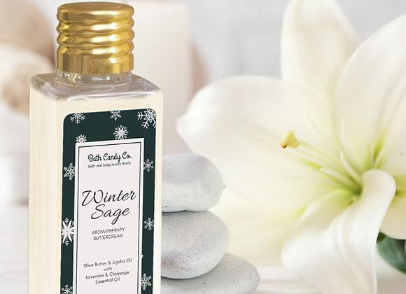 Winter Sage-Rich Butter Cream with Essential Oils