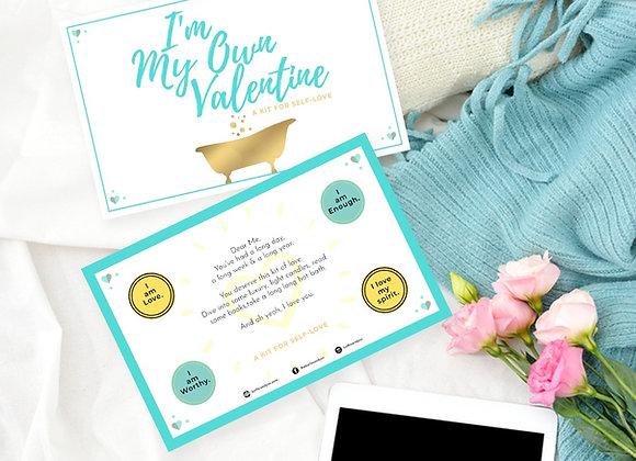 I'm My Own Valentine   Valentine's Day Cards