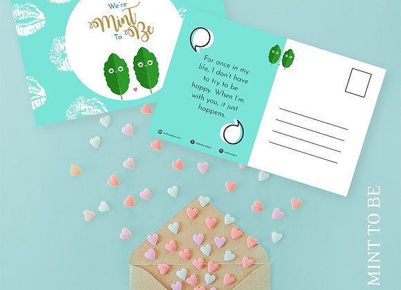 Mint To Be | Valentine's Day Card