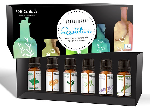 Aromatherapy Quotidian | Set of 6 Essential Oils