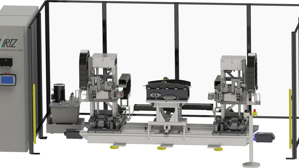 CNC-Streckbiegemaschine