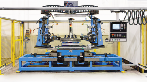 Universelle CNC-Streckbiegemaschine