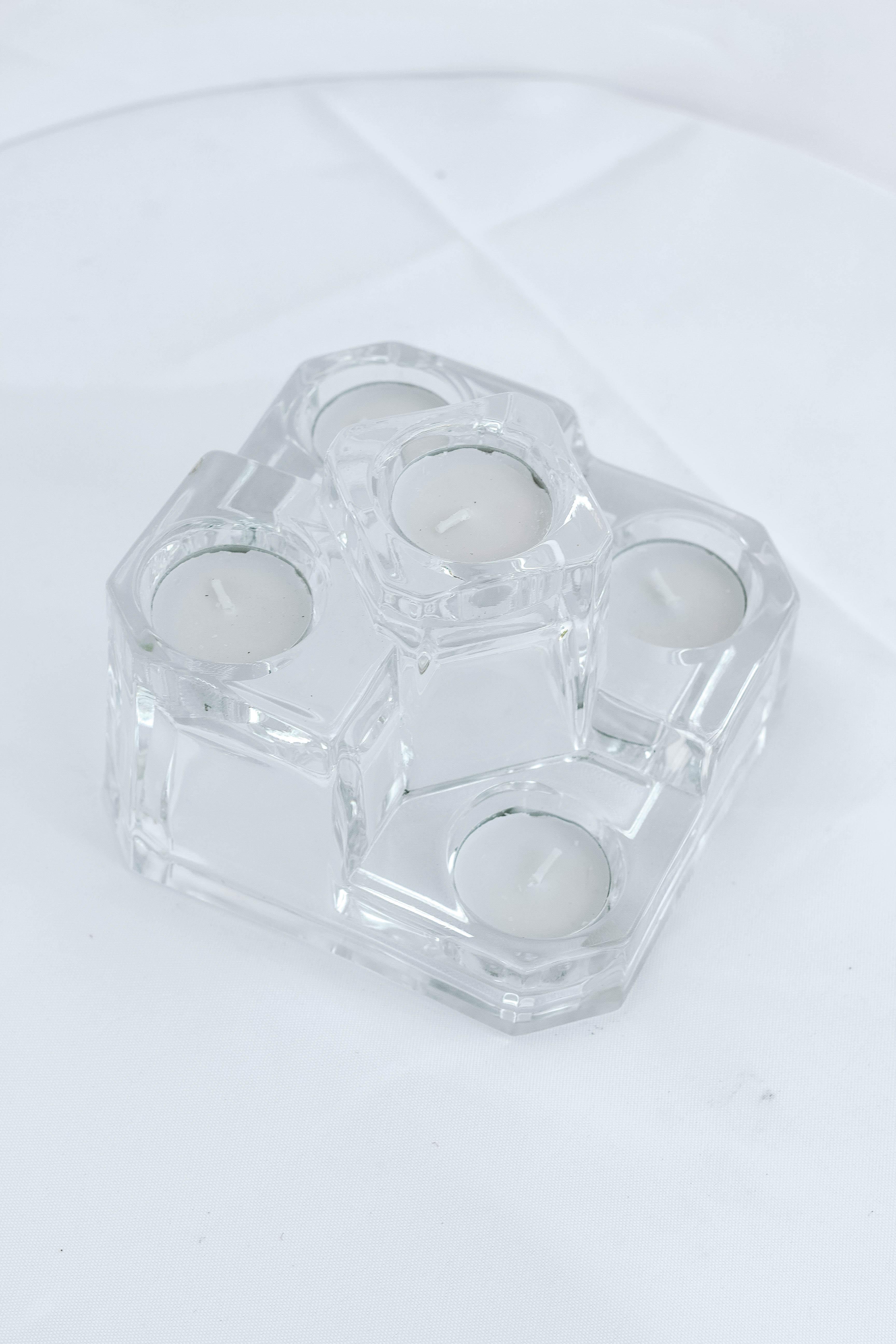 4 Clear Crystal