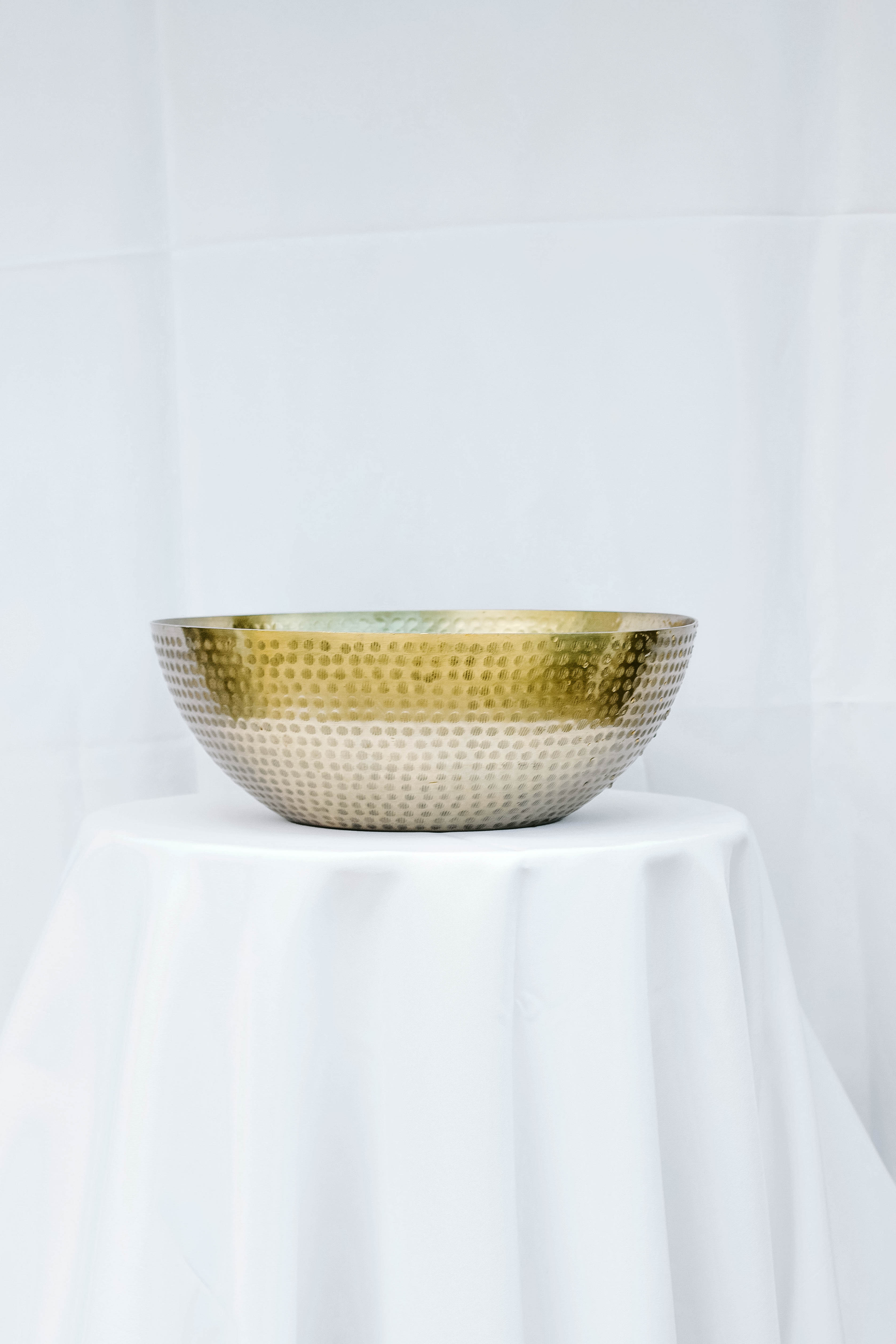 Large Gold Bowl