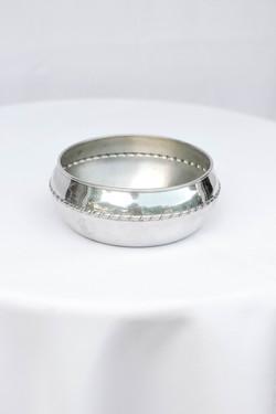 Short Silver Bowl