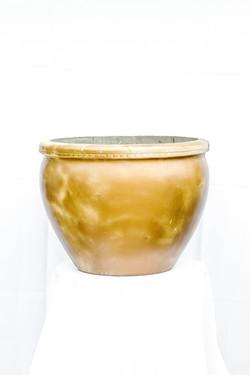 Large Gold Pot