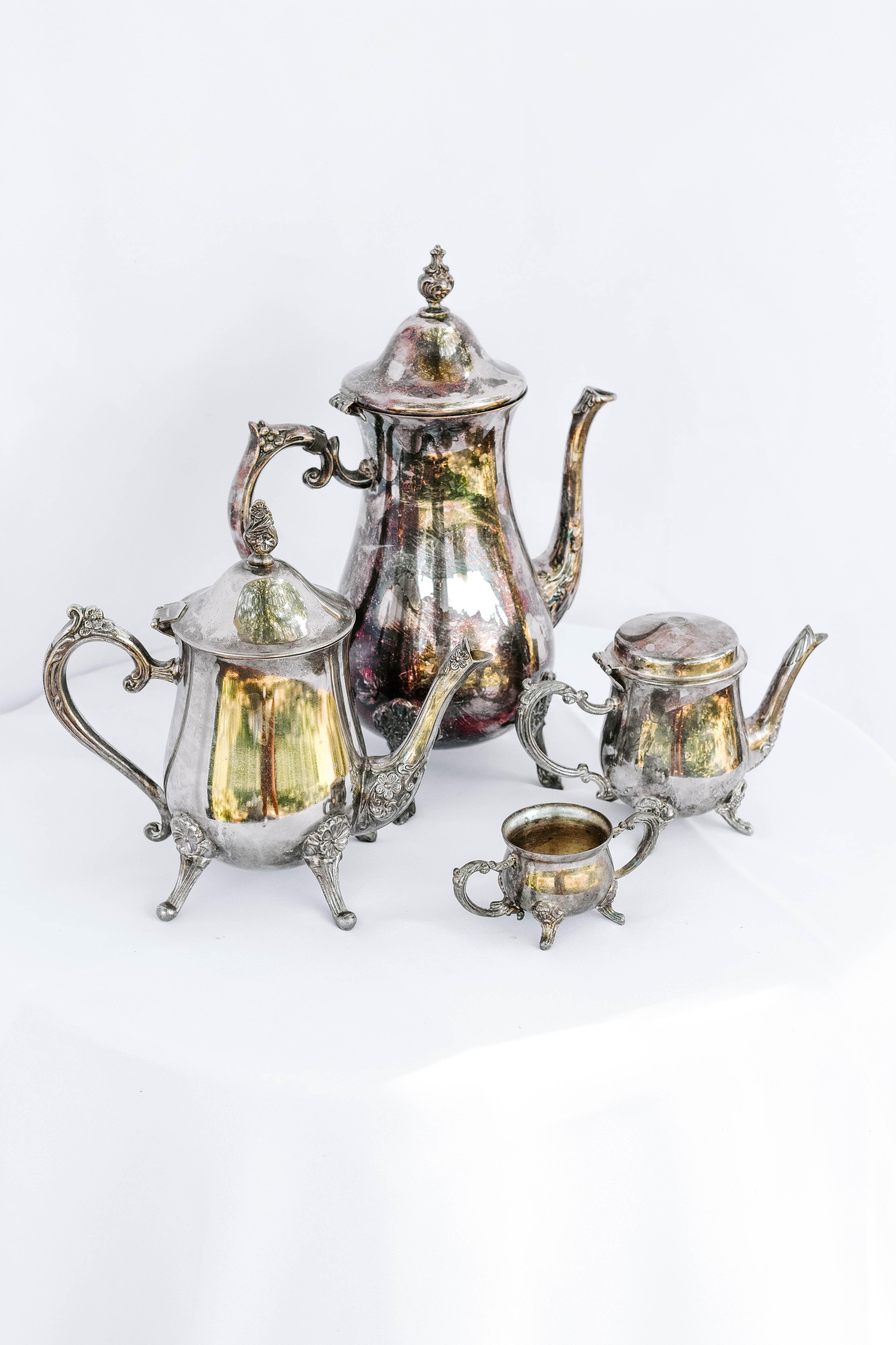 Mixed Teapots