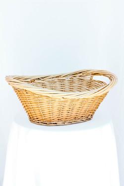 Tan Woven Basket