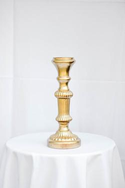 Gold Mermaid Pedestal