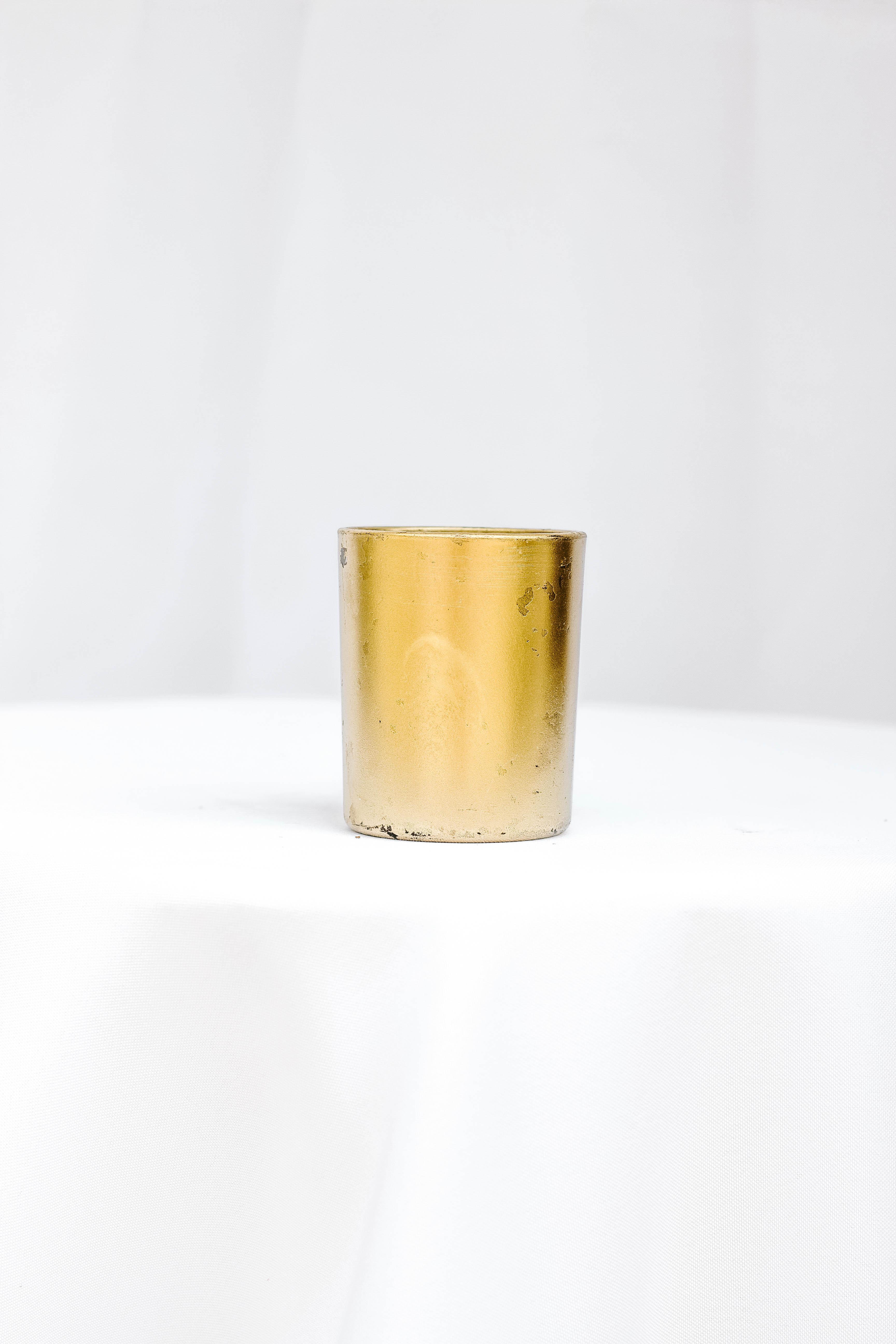 Small Matte Gold Vase