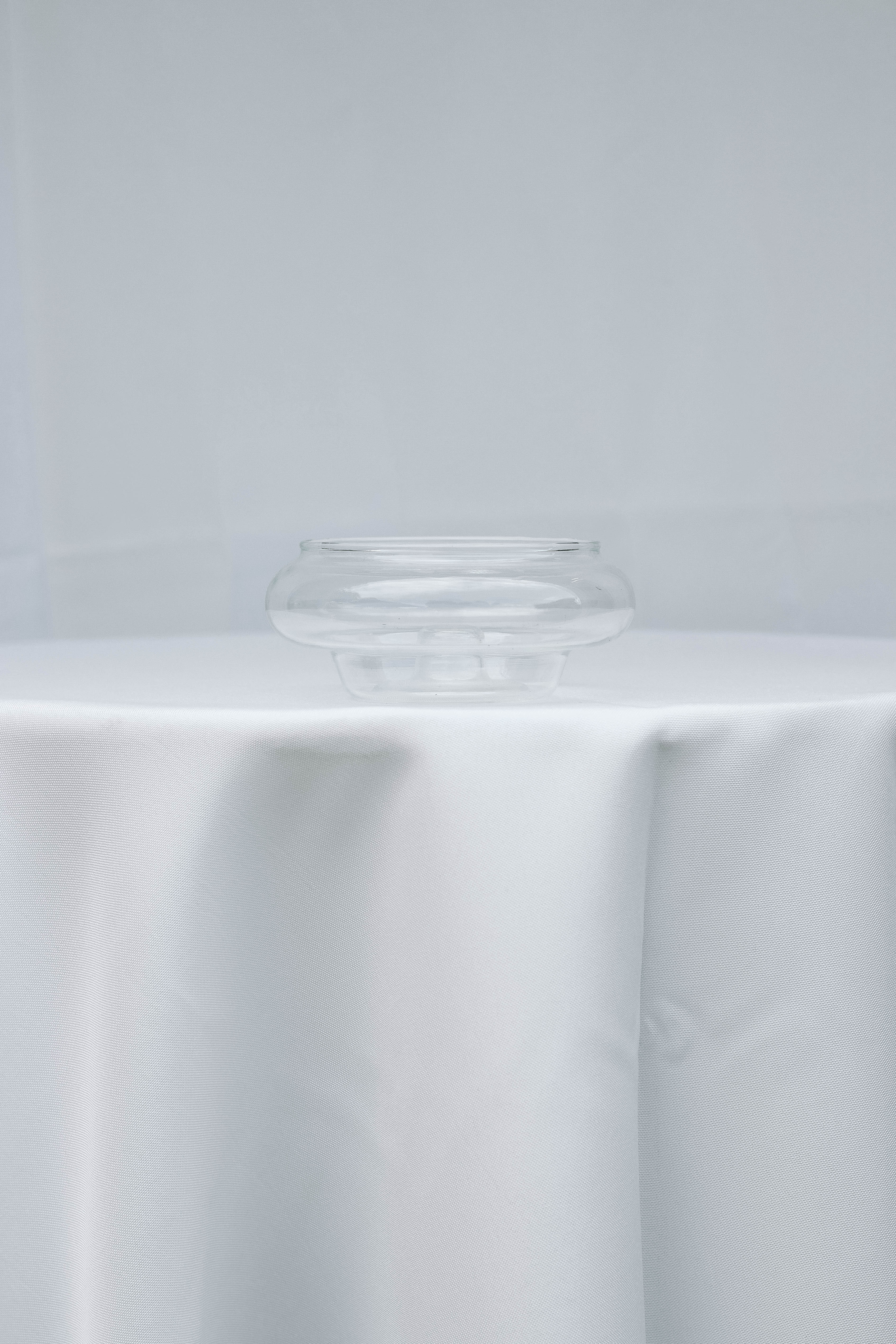 Short Clear Bowl