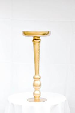 Gold Fat Bottomed Pedestal