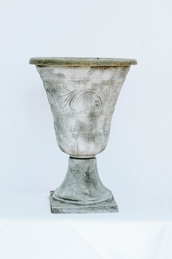 Grey Stone Urn